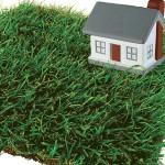 Дом на траве