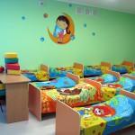 Комната в детском саду