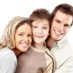 Семья из 3 человек